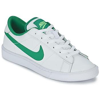 Schuhe Jungen Sneaker Low Nike TENNIS CLASSIC JUNIOR Weiss / Grün