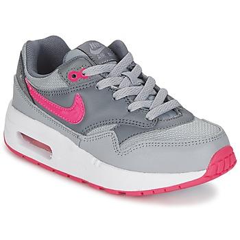 Schuhe Mädchen Sneaker Low Nike AIR MAX 1 CADET Grau / Rose