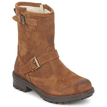 Schuhe Mädchen Boots Naturino  Stein / kaffee