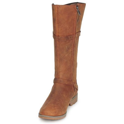 Teva DELAVINA Klassische LEATHER Braun  Schuhe Klassische DELAVINA Stiefel Damen 111,30 941c47