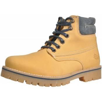 Schuhe Mädchen Boots Alpe 46157 12 Brown