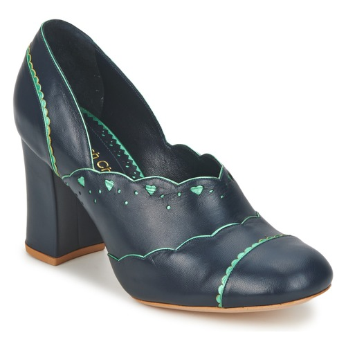 Sarah Chofakian SCHIAP Marine / Minze Schuhe Pumps Damen 179,50