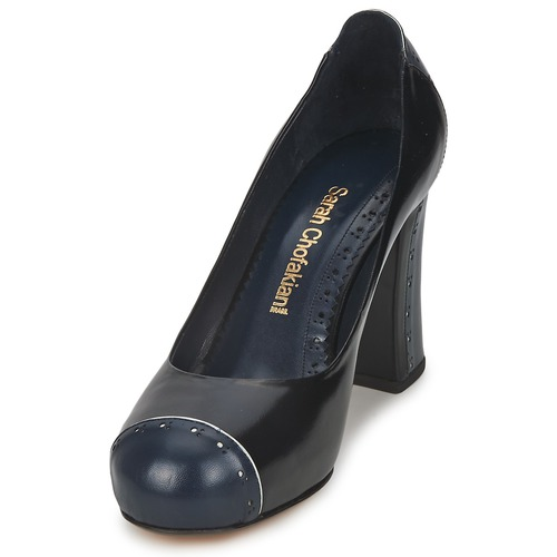 Sarah Chofakian Chofakian Chofakian DRESS Schwarz / Marine  Schuhe Pumps Damen 143,60 a64d8d
