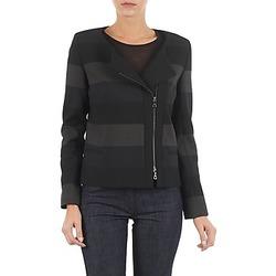 Kleidung Damen Jacken / Blazers Lola VIE DUP Schwarz / Grau