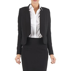 Kleidung Damen Jacken / Blazers Lola DOUBLE VAEL Schwarz