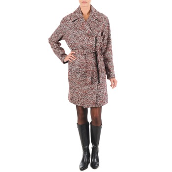 Kleidung Damen Mäntel Lola MORANDI IPERYON Bordeaux