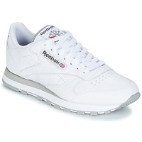 Schuhe Sneaker Low Reebok Classic CL LEATHER Weiss