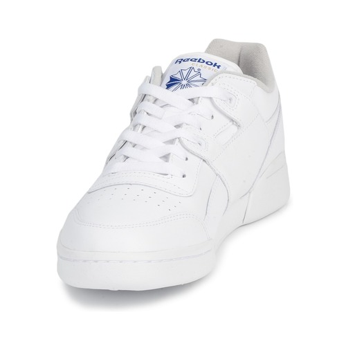 Reebok Weiss Classic WORKOUT PLUS Weiss Reebok Schuhe Sneaker Low 72 f61ea3