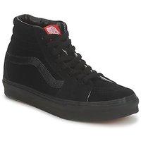 Schuhe Herren Sneaker High Vans SK8 HI Schwarz / Schwarz