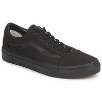 Schuhe Sneaker Low Vans OLD SKOOL Schwarz / Schwarz