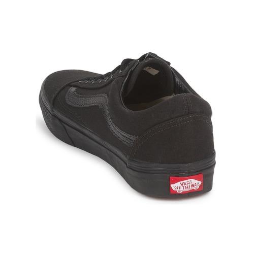 Vans OLD SKOOL Schwarz / Schwarz  Schuhe Sneaker Low  74,99