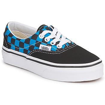 Schuhe Kinder Sneaker Low Vans ERA KIDS Blau / Schwarz