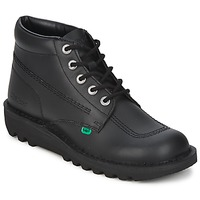 Schuhe Herren Boots Kickers KICK HI Schwarz