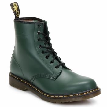 Schuhe Damen Low Boots Dr Martens 1460 8 EYE BOOT Grün