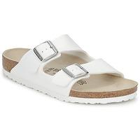 Schuhe Pantoffel Birkenstock ARIZONA Weiss