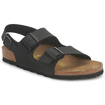 Schuhe Sandalen / Sandaletten Birkenstock MENS MILANO Schwarz
