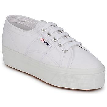 Schuhe Damen Hausschuhe Superga 2790 LINEA Weiss