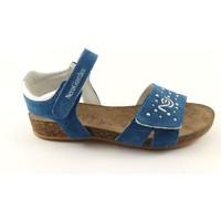 Schuhe Kinder Sandalen / Sandaletten Nero Giardini NGJ-31022-221 Blu