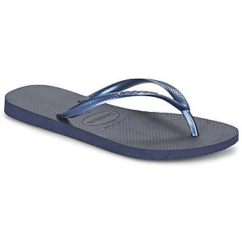 Schuhe Damen Zehensandalen Havaianas SLIM Marine