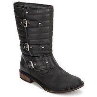 Schuhe Damen Boots UGG TATUM Schwarz