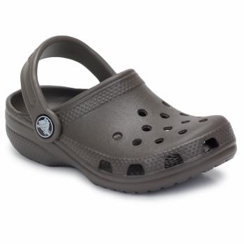 Schuhe Kinder Pantoletten / Clogs Crocs KIDS CLASSIC CAYMAN Schokolade