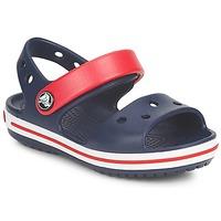 Schuhe Kinder Sandalen / Sandaletten Crocs CROCBAND SANDAL Marine / Rot