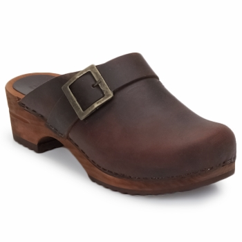 Schuhe Damen Pantoletten / Clogs Sanita URBAN OPEN Braun