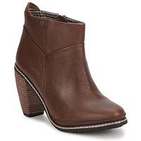 Schuhe Damen Low Boots Feud LIGHT Braun