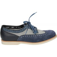 Schuhe Damen Slipper Santoni SPACE FOUR Blau