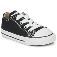 Schuhe Kinder Sneaker Low Converse ALL STAR OX Schwarz