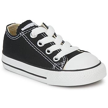 Schuhe Kinder Sneaker Low Converse ALL STAR OX Schwarz