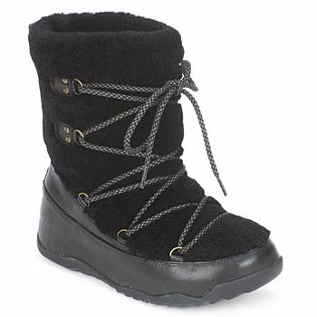 Schuhe Damen Schneestiefel FitFlop SUPERBLIZZ Schwarz