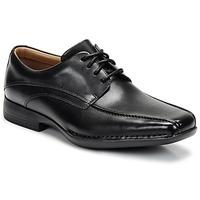 Schuhe Herren Derby-Schuhe Clarks FRANCIS Schwarz