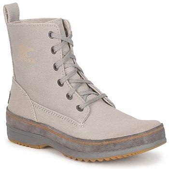 Schuhe Herren Boots Sorel  Grau