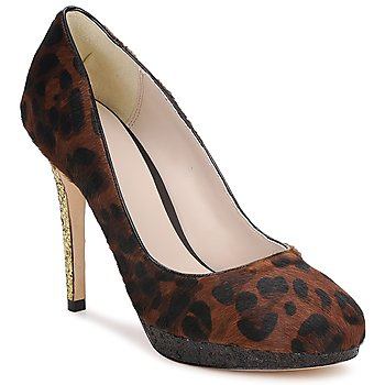 Schuhe Damen Pumps Bourne LAURA Leopard