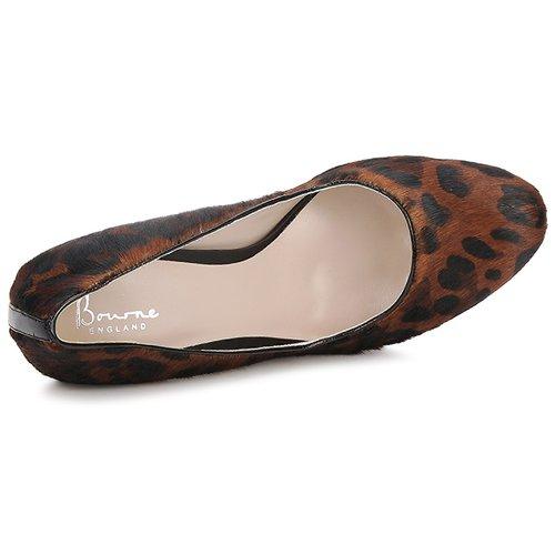 Bourne Damen LAURA Leopard  Schuhe Pumps Damen Bourne 76 2f1968
