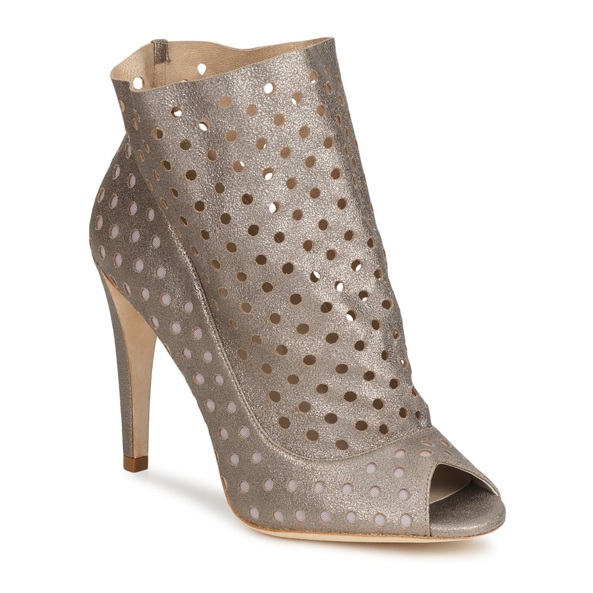 Bourne RITA Silbern - Kostenloser Versand bei Spartoode ! - Schuhe Low Boots Damen 115,20 €