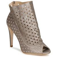 Schuhe Damen Low Boots Bourne RITA Silbern