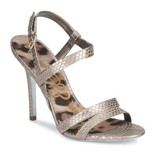 Sam Edelman ABBOTT Silbern  Schuhe Sandalen / Sandaletten Damen 131,20