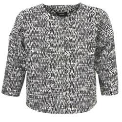 Kleidung Damen Jacken / Blazers Mexx MX3002331 Schwarz / Weiss