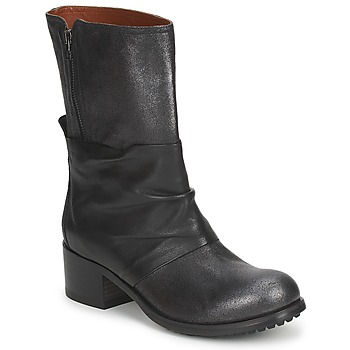Schuhe Damen Boots Fru.it LEAD Grau