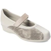 Schuhe Damen Ballerinas Dtorres D TORRES Tänzer für breite Füße BEIGE