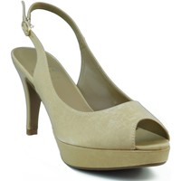 Schuhe Damen Sandalen / Sandaletten Marian Partei Schuhe Frau GOLDEN
