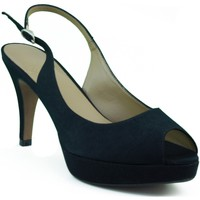 Schuhe Damen Sandalen / Sandaletten Marian Partei Schuhe Frau SCHWARZ