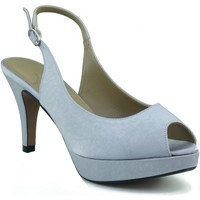 Schuhe Damen Sandalen / Sandaletten Marian Partei Schuhe Frau GRAU
