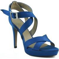Schuhe Damen Sandalen / Sandaletten Marian Partei Schuhe mit Absätzen. BLAU