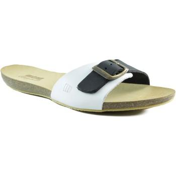 Schuhe Damen Sandalen / Sandaletten MTNG MUSTANG flaches Sandelholz WEIB