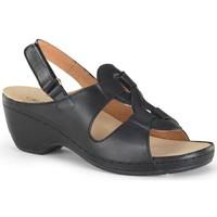 Schuhe Damen Sandalen / Sandaletten Calzamedi orthopädische Sandale SCHWARZ