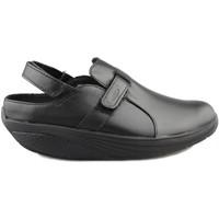 Schuhe Damen Pantoletten / Clogs Mbt FLUA BLACK