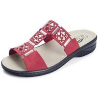 Schuhe Damen Pantoffel Dtorres Sandalen Schuhe D'TORRES IZAN VORLAGEN ROT